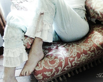 Steampunk Marie Antoinette Bo Peep Lagenlook Bloomers Pantaloons designed by Morphelle.