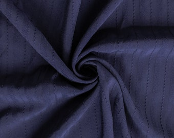 Navy Stretch Woven Fabric by the yard - 1 Yard Style 6546