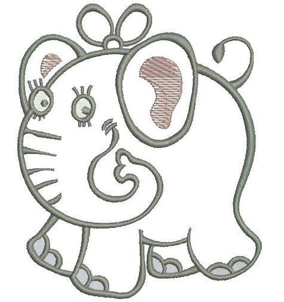 elephant machine embroidery designs