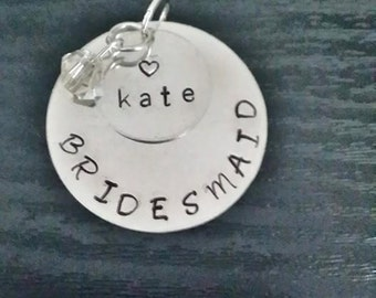 Personalized Bridesmaid Maid of Honor Jewelry for your Wedding!