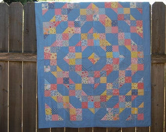 1930s-Inspired Lap-Size Quilt