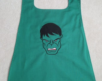 Hulk- Reversible Superhero Cape