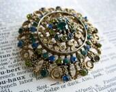 Vintage Kramer Blue Green...