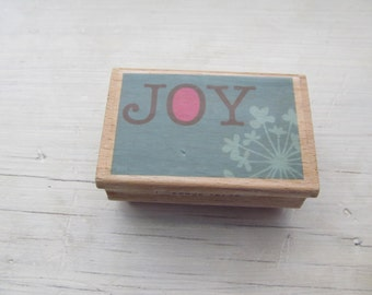 Used Rubber Stamp, Joy, Studio G