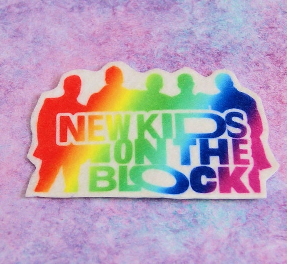 New Kids On The Block Neon Logo