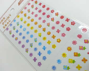 Lovely Flower Paper Sticker  - 1 Sheet