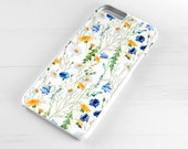 iPhone 6 Case iPhone 5c iPhone 5s iPhone 6 plus cover - Floral Flowers Spring Daisy - PC0005