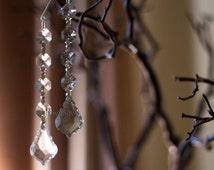 Pendant Crystal Hanging Ornament Acrylic Drop Wedding Decorations - Centerpiece - Chandelier Parts ( 1 piece per pack )