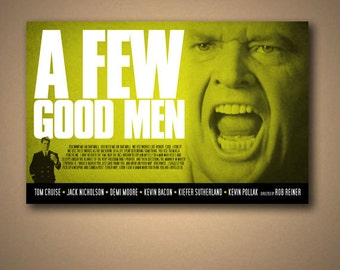 A FEW GOOD MEN Movie Quote Poster