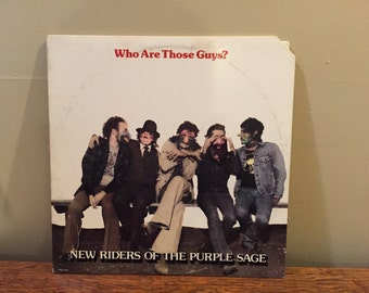 """New Riders of the Purple Sage """"Who Are Those Guys?"""" vinyl record"""