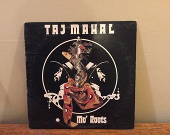 """Taj Mahal """"Mo' Roots"""" vinyl record"""