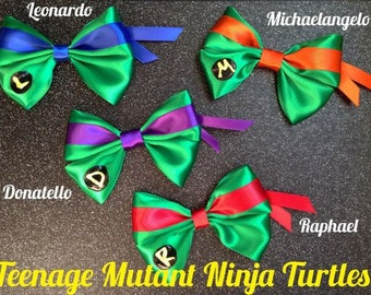 Teenage Mutant Ninja Turtles inspired bow