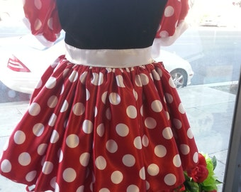 minnie mouse toddler infant children girls costume dress