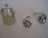 Set Of 3 Vintage Tea Infusers, Tea Time