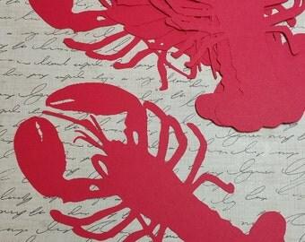 Large Die Cut Lobsters.   #H-20