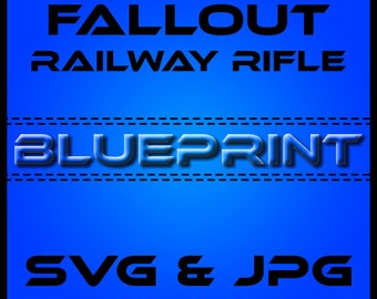 FALLOUT 3 Railway Rifle BLUEPRINTS