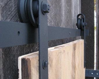 Mid-Century Sliding Door Hardware Kit