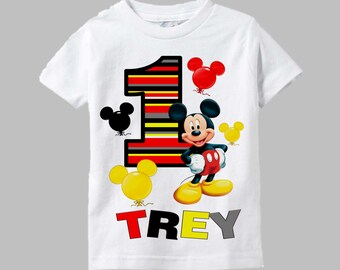 Mickey Mouse Birthday Shirt - Mickey Mouse Shirt - Mickey Shirt
