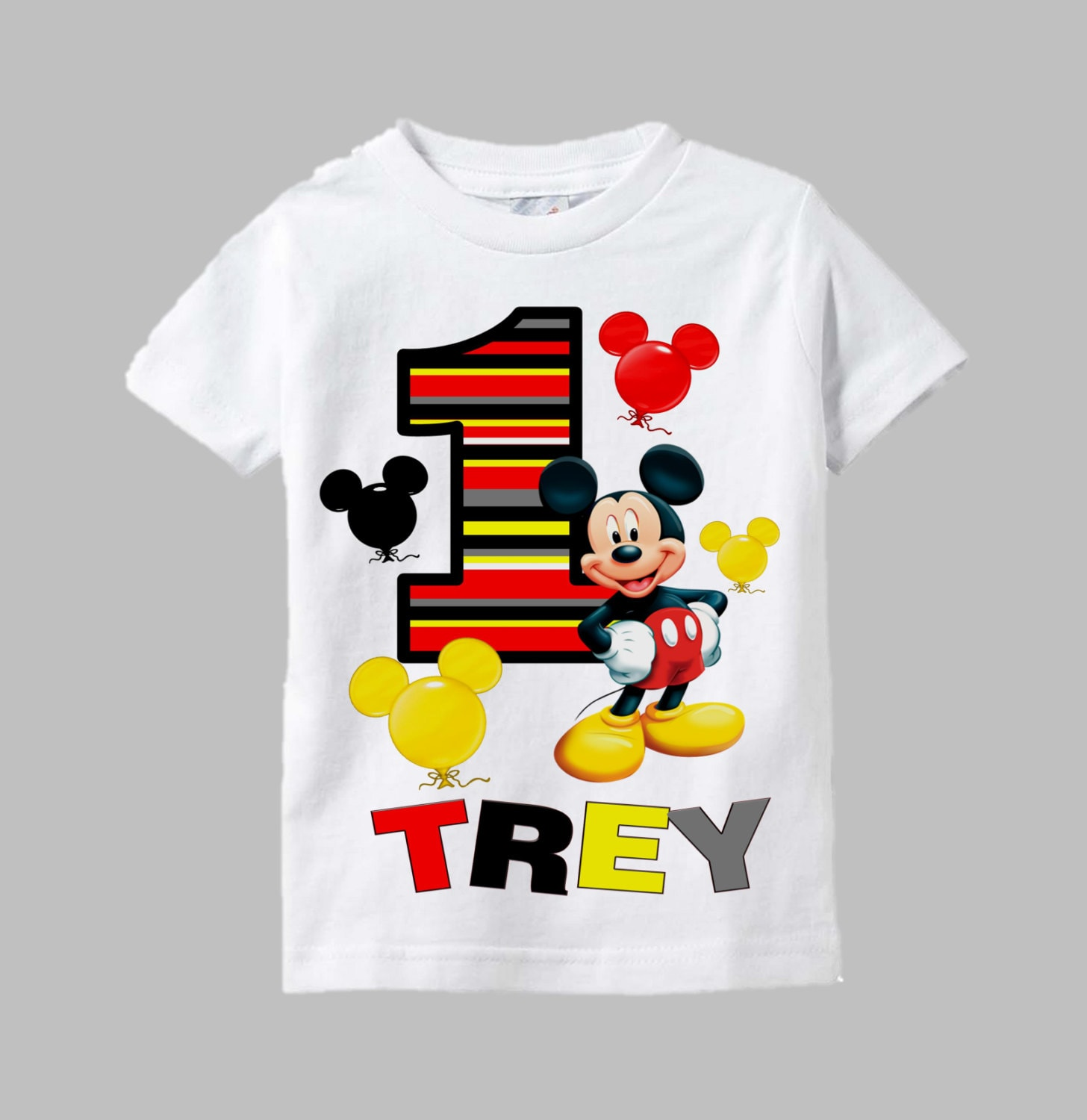 Mickey mouse birthday shirt mickey mouse shirt mickey for Where can i order custom t shirts