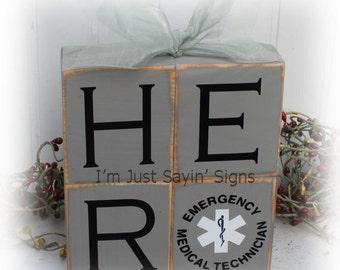Hero EMT wood stacking blocks