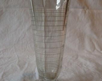Vintage Double Spouted Glass Lab Beaker (2 OZ - 60 CC)