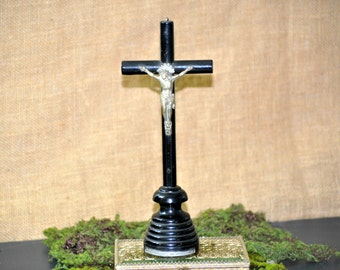 Nice Antique Nuns Cross, Crucifix Cross, Antique Vintage monastery Victorian Cross, Great Item for a collection