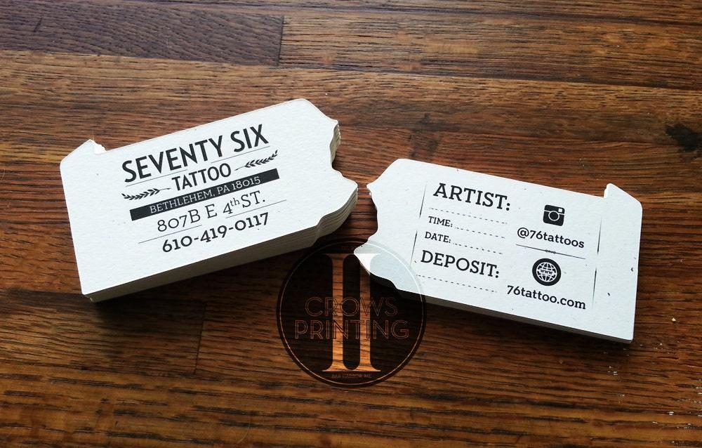 Custom Shaped Business Cards Die Cut Corners