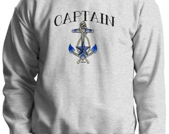 Captain Crewneck Sweatshirt 18000 - RV-97