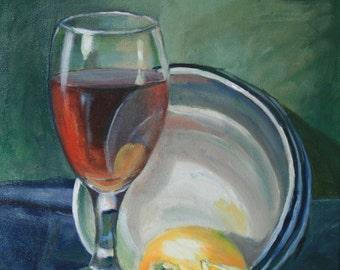 Tea with Lemon (New Orleans, Louisiana Art)