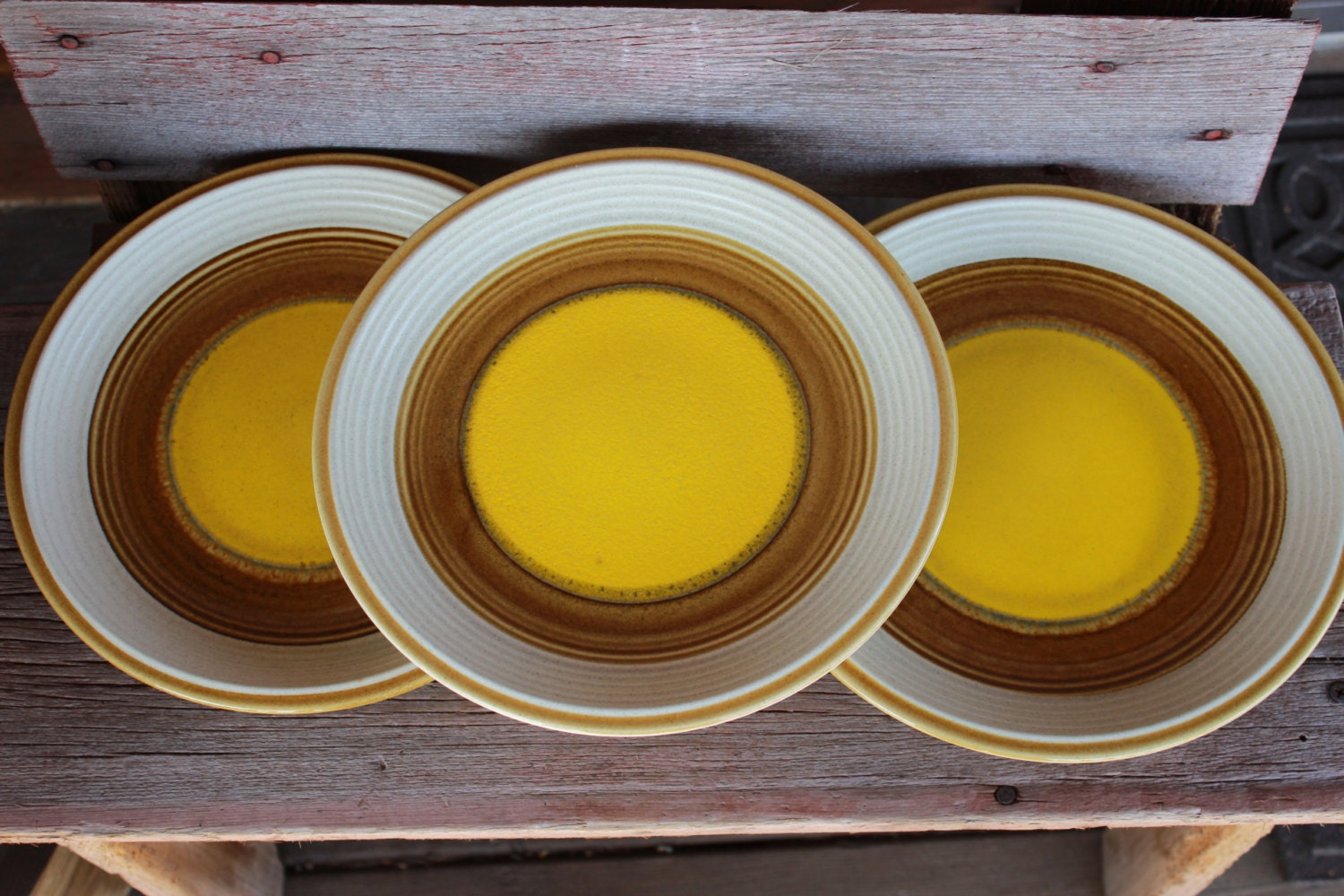 Retro Dinner Plate Buttercups Pattern By Mikasa
