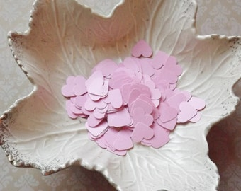 Light Pink Confetti Paper Hearts-500 Pieces-Weddings, Showers, Birthdays