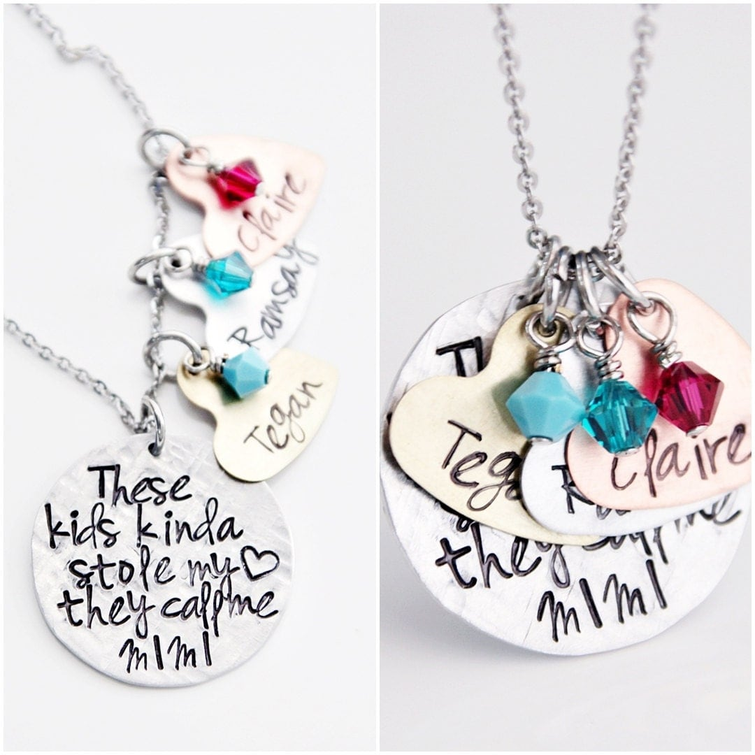name charms necklace mimi necklace nana