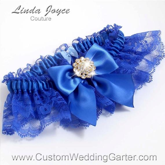 Items Similar To Royal Blue Wedding Garters Bridal Garter