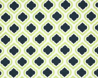 Fabric Shower Curtain 72 Wide Premier Print Curtis Collection 72x72 72x84 72x96 Lime Saffron