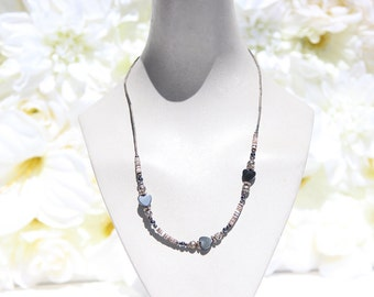 Rock Hearts & Rosettes Necklace