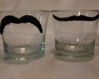 Mustache Votive Holders (Set of 2 or 4)