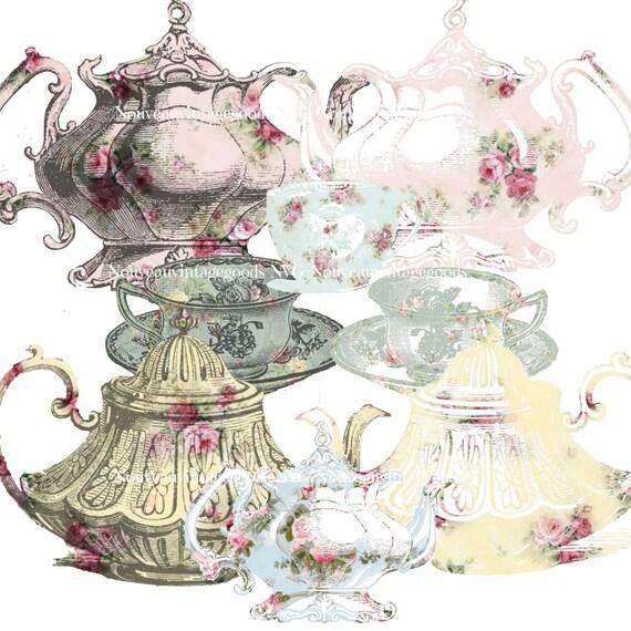 vintage tea cup wallpaper - photo #14