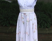 Retro Magnolia Tea Dress // Women's Size Large (REDUCED PRICE)