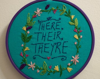 Quote Embroidery Patterns