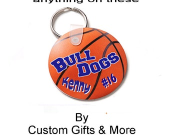 Personalized Plastic Key Ring