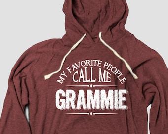 Grammie Grandmother Hoodie, My Favorite People Call Me Grammie
