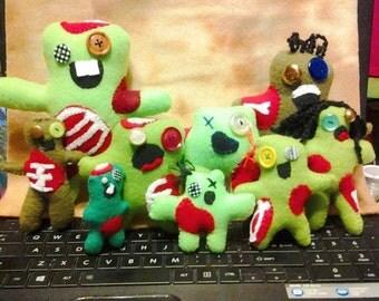 Zombies, Zombie Plushy (Zombie plushies, Horror, Toy)