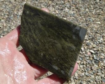 Gold Sheen Obsidian Slab  (80X60X9)