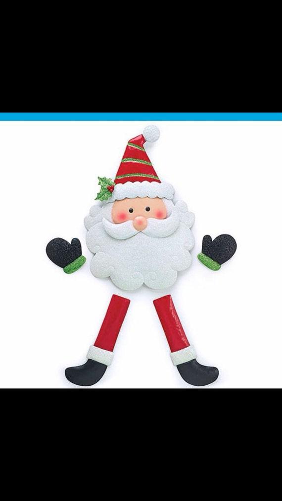 Sale! Christmas Santa Claus Wreath DIY Kit