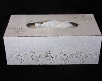 Shabby tissue box