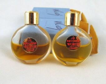 Je Reviens Worth Perfumes Juice Mini Les Parfums Vintage Pair Bottles Original Boxes