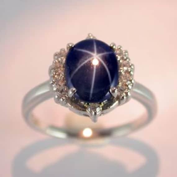 genuine star sapphire ring - photo #20