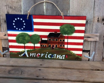 americana plaque