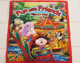 Fun with Friends  Pillow Pets cloth book
