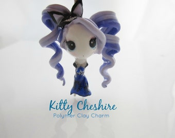 Kitty Cheshire Ever After High Chibi Polymer Clay Charm